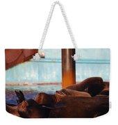 Whos Your Seal Weekender Tote Bag