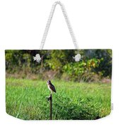 Wide Eyed Owl Weekender Tote Bag