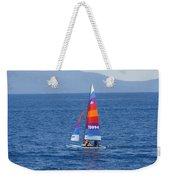 Wide Sail Weekender Tote Bag
