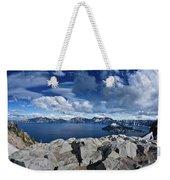 Wide View Of Crater Lake Weekender Tote Bag