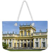 Wilanow Palace And Museum - Poland Weekender Tote Bag