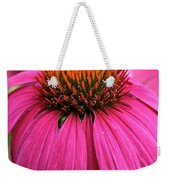 Wild Berry Purple Cone Flower Weekender Tote Bag