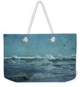 Wild Blue - High Surf - Outer Banks Weekender Tote Bag