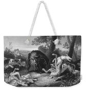 Wild Boar Hunt Weekender Tote Bag
