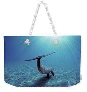 Wild Bottlenose Dolphin Weekender Tote Bag