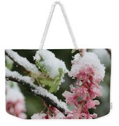 Wild Currant Blossoms Ribes Sanguineum Weekender Tote Bag