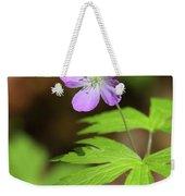 Wild Geranium Weekender Tote Bag