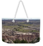 Wild Mountain Goat On Top Of The Badlands Weekender Tote Bag