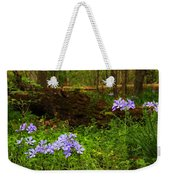 Wild Phlox In The Woodlands Weekender Tote Bag