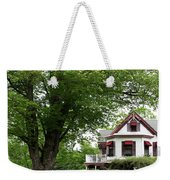 Wild Rose Inn Woodstock Weekender Tote Bag