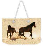 Wild Stallion Clash Weekender Tote Bag