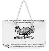Wild Turkey, 1604 Weekender Tote Bag