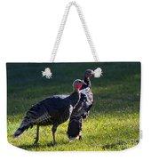 Wild Turkeys Weekender Tote Bag by Mike  Dawson