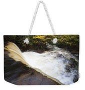 Wilderness Waterfall Autumn Stream Weekender Tote Bag