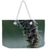 Wildflower Dew Covered Weekender Tote Bag