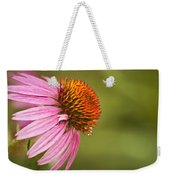 Wildflower Dew Drops Weekender Tote Bag