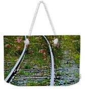 Wildflower Railroad Weekender Tote Bag