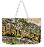 Wildflower Steps Weekender Tote Bag