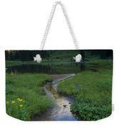 Wildflower Stream Weekender Tote Bag