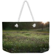 Wildflower Sunburst One Weekender Tote Bag