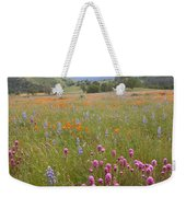 Wildflower Wonderland 6 Weekender Tote Bag