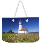 Wildflowers And Cape Blanco Lighthouse Weekender Tote Bag