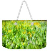 Wildflowers And Wind Weekender Tote Bag