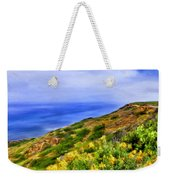 Wildflowers At Point Loma Weekender Tote Bag