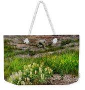 Wildflowers In Badlands Weekender Tote Bag