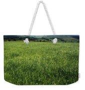Wildflowers On A Landscape, Connemara Weekender Tote Bag