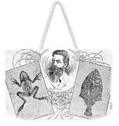 Wilhelm Konrad Roentgen, German Weekender Tote Bag