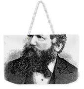 Wilhelm Steinitz (1836-1900) Weekender Tote Bag