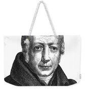 Wilhelm Von Humboldt Weekender Tote Bag