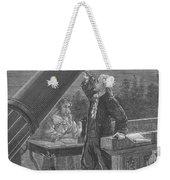 William And Caroline Herschel, German Weekender Tote Bag