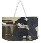 William Cullen Bryant, American Poet Weekender Tote Bag by Science Source