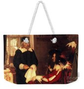 William Harvey Demonstrating Circulation Weekender Tote Bag