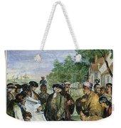 William Penns Treaty, 1682 Weekender Tote Bag