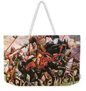 William The Conqueror At The Battle Of Hastings Weekender Tote Bag
