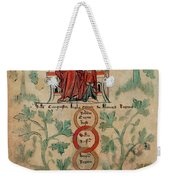 William The Conqueror Family Tree Weekender Tote Bag by Photo Researchers