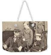 Willie & Tad Lincoln, 1862 Weekender Tote Bag