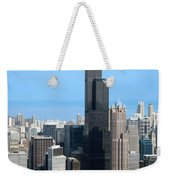 Willis Sears Tower 01 Chicago Weekender Tote Bag