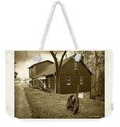 Williston Mill - Sepia Weekender Tote Bag