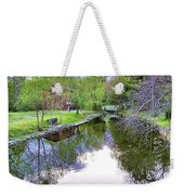 Williston Mill Stream Weekender Tote Bag
