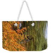 Willow In The Garden Weekender Tote Bag