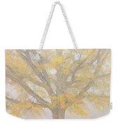 Willow Oak In Fog Weekender Tote Bag by Bill Swindaman