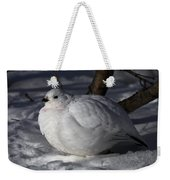 Willow Ptarmigan Weekender Tote Bag
