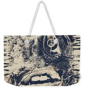 Willy The Smirk Two Weekender Tote Bag by Empty Wall