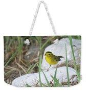 Wilsons Warbler By The Stream Weekender Tote Bag