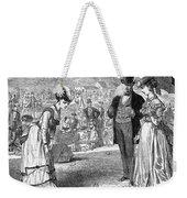 Wimbledon: Croquet, 1870 Weekender Tote Bag by Granger