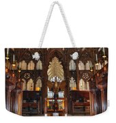 Winchester Cathedral Quire Weekender Tote Bag